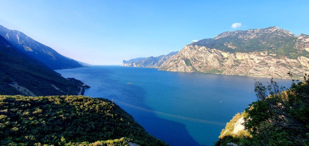 Widok na Lago di Garda.