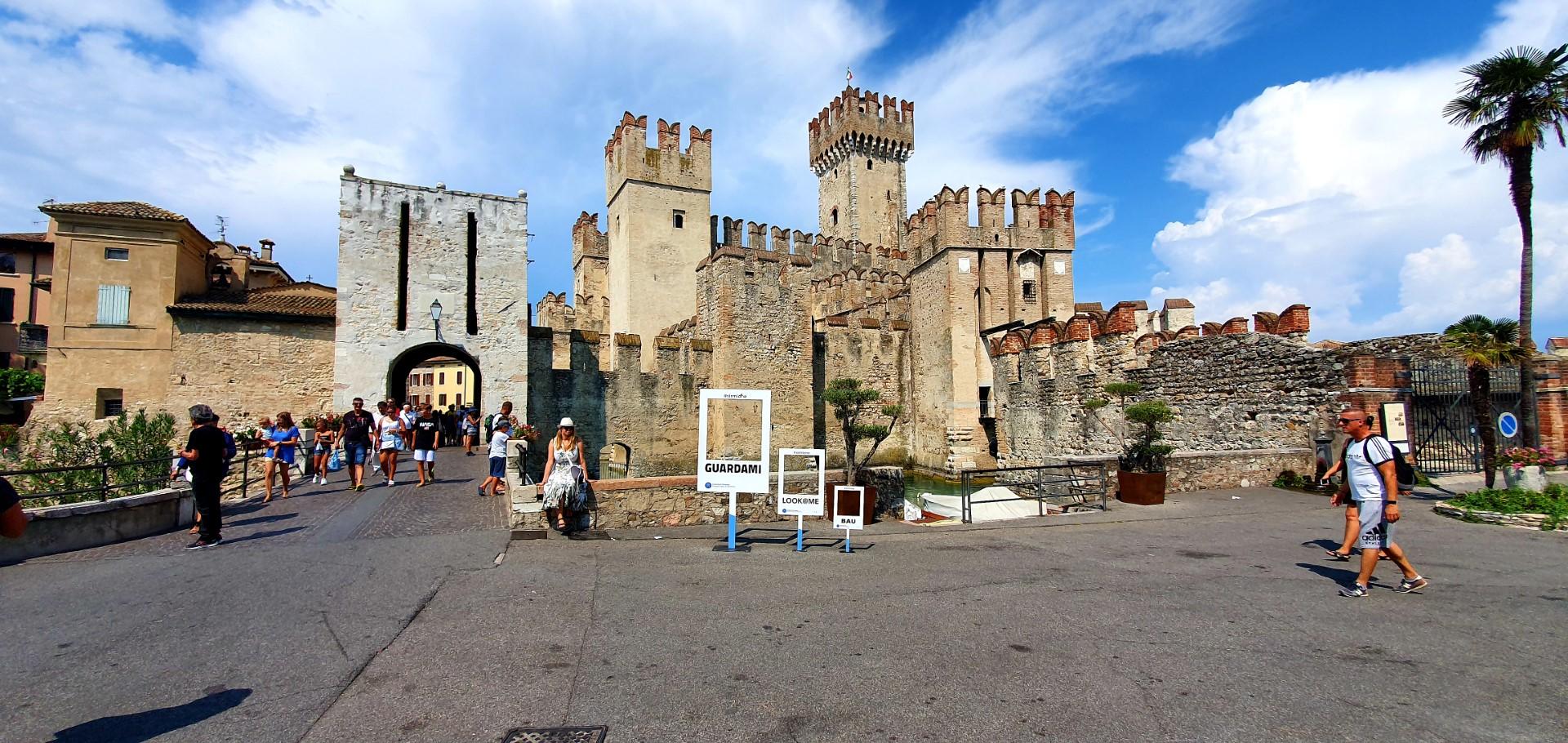 Zamek w Sirmione.