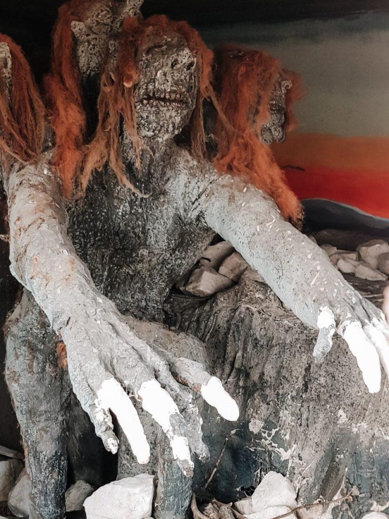 Wigura trolla w kopalni kobaltu.