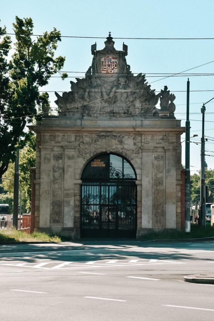 Brama Portowa w Szczecinie.