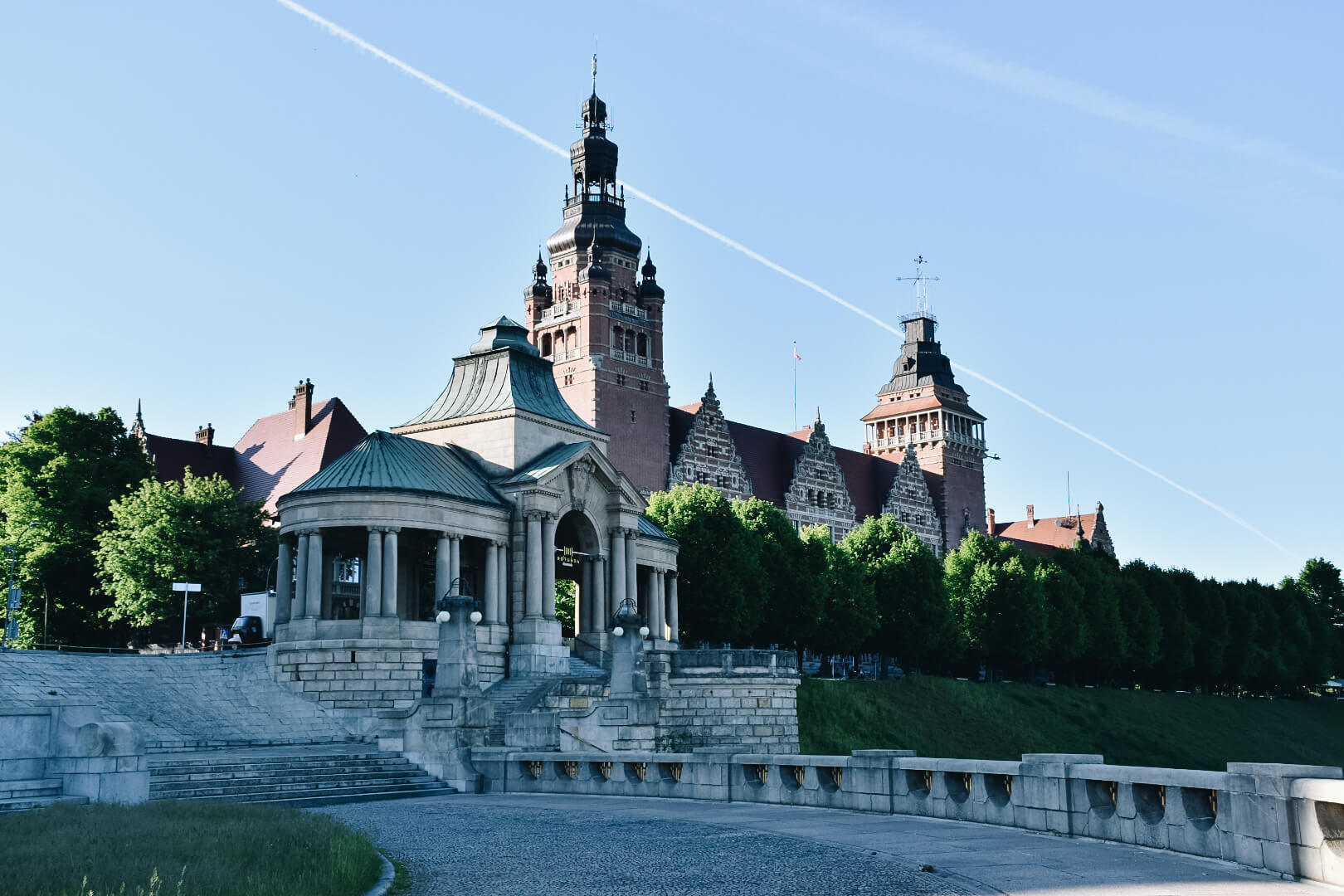 Wały Chrobrego, Szczecin.