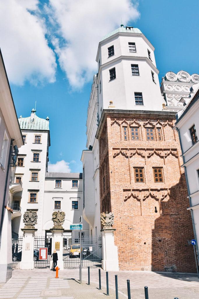 Zamek Książąt Pomorskich w Szczecinie.