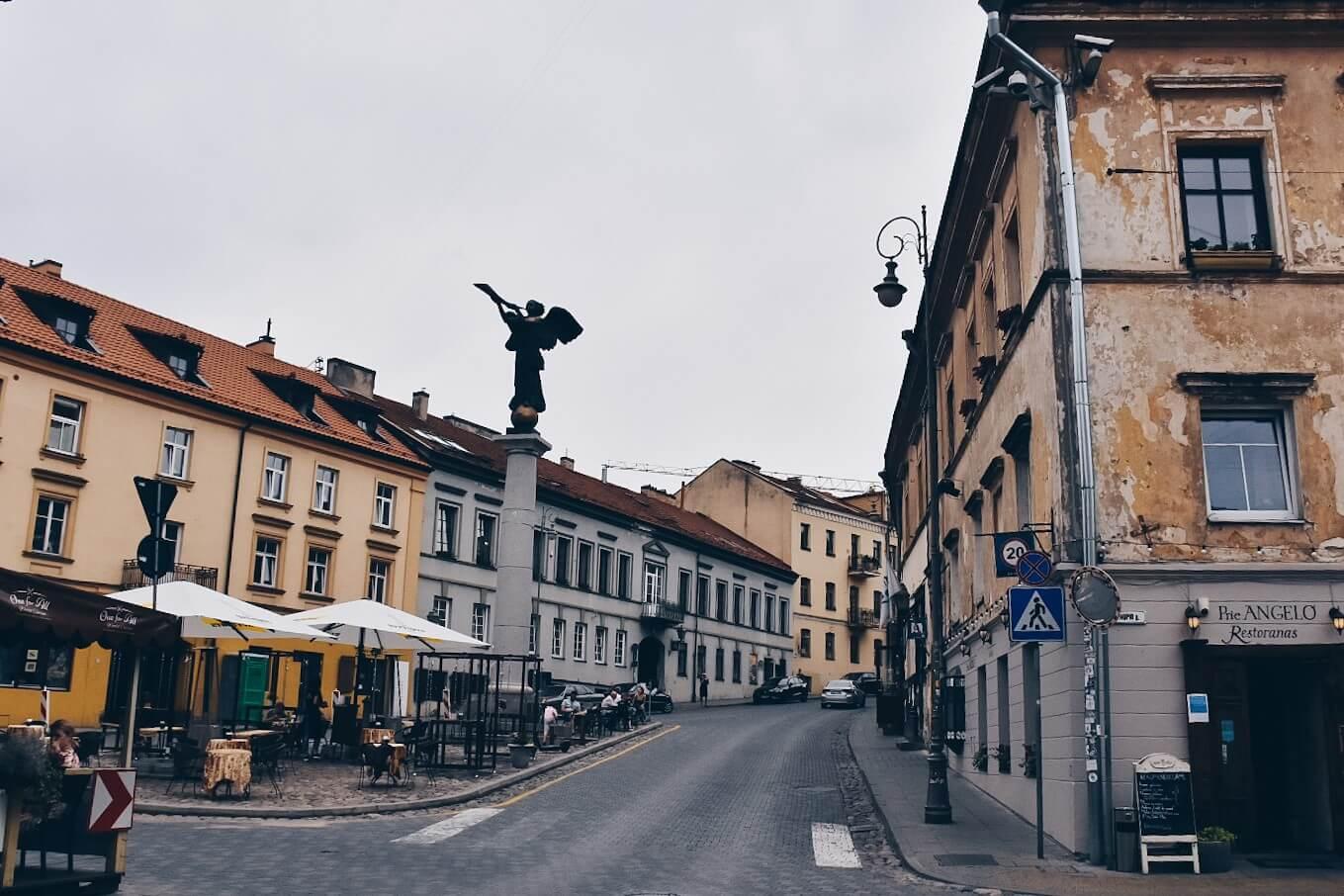 Zarzecze w Wilnie.