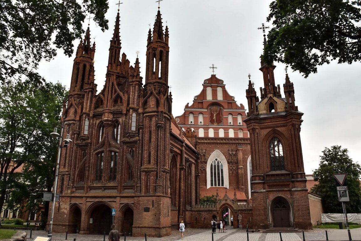 Kościół Św. Anny w Wilnie.