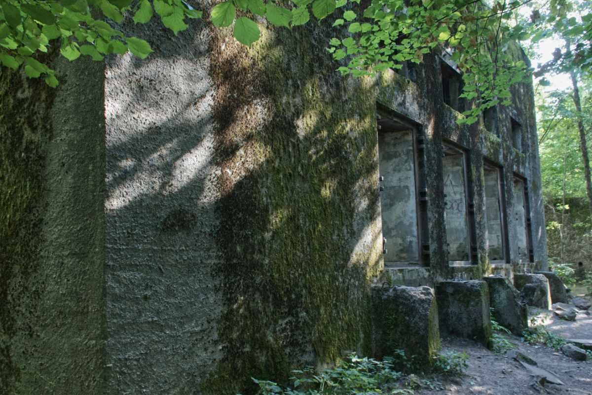 Bunkier w Mamerkach, Mazury.