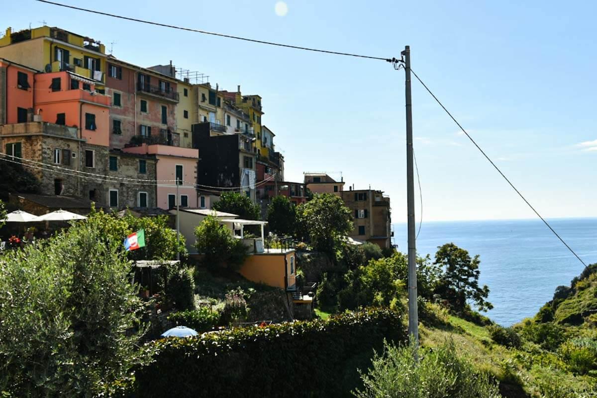 Miasteczko Corniglia w Cinque Terre.