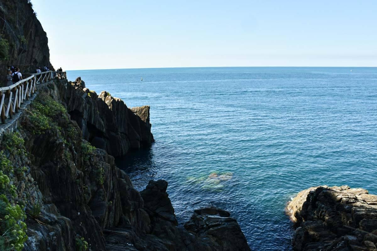 Wybrzeże Cinque Terre.