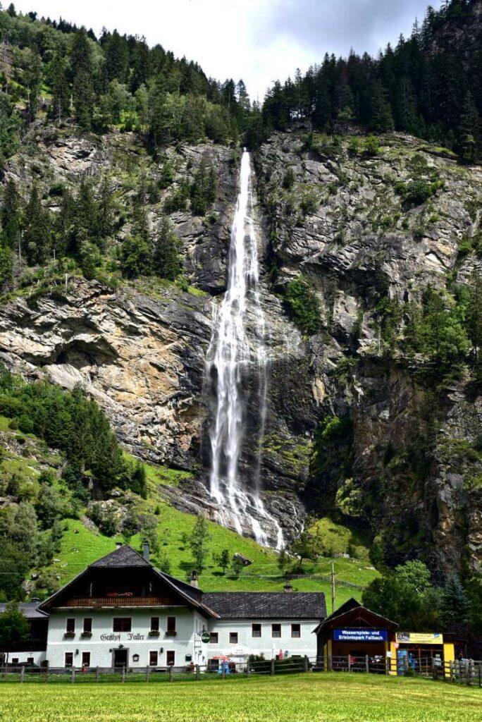 Wodospad Fallbach.
