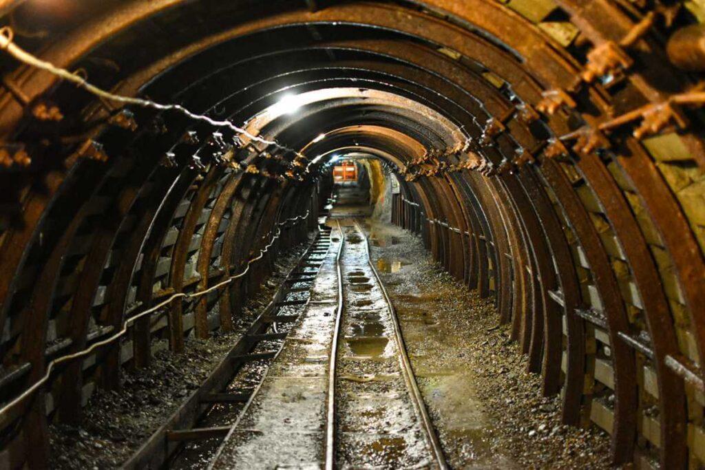 Dolny Śląsk, Kopalnia Złota Złoty Stok tunel.