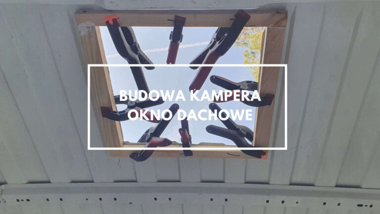 Okno dachowe do kampera