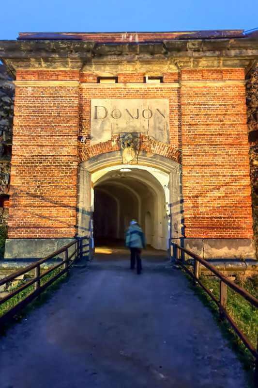 Wejście do Donjon.